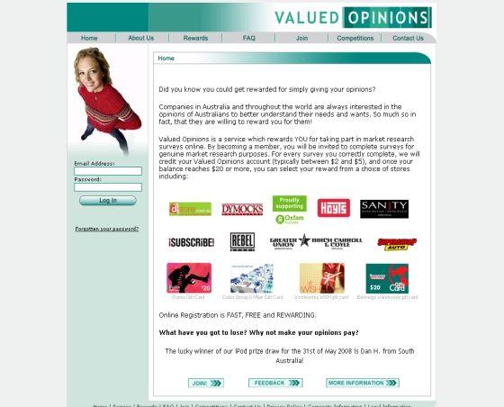 valued surveys