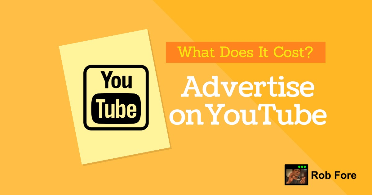 How Much Does It Cost to Advertising on Youtube?