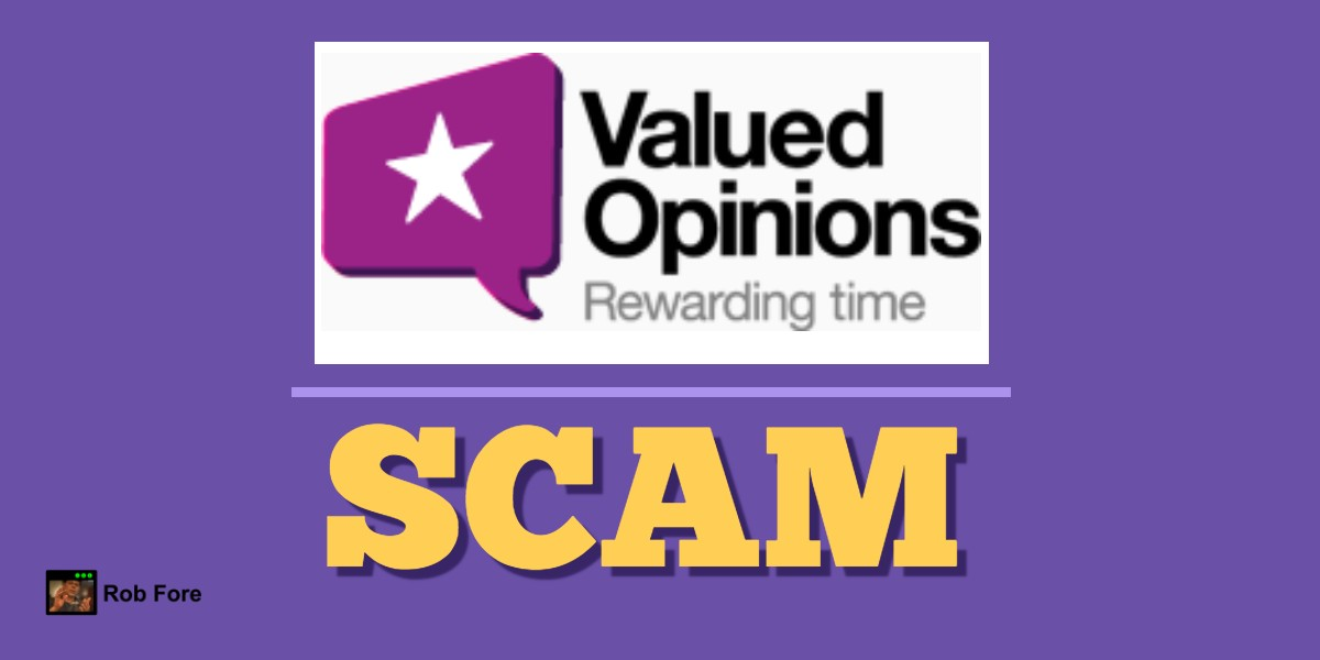 Valued Opinions Scam