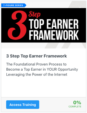 3 Step Top Earner Framework