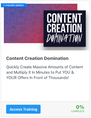 Content Creation Domination