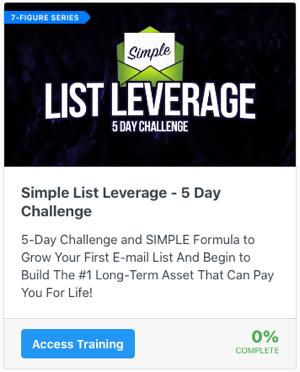 Simple List Leverage