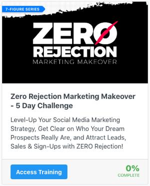 Zero Rejection Marketing - 5 Day Challenge